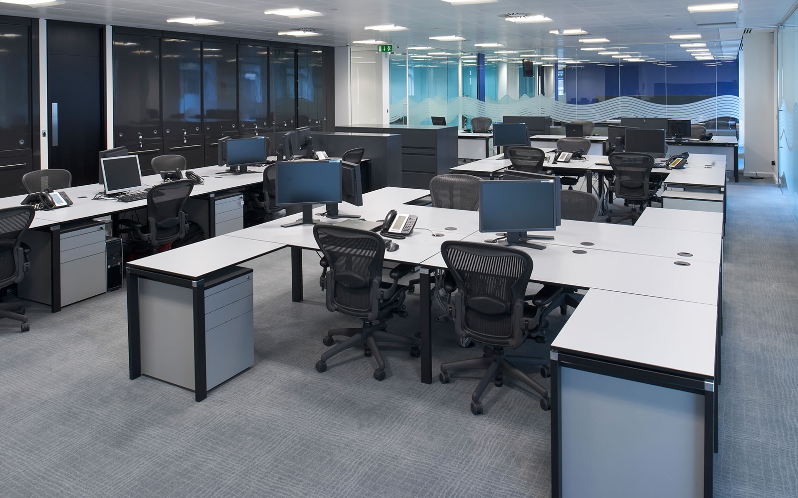 Office refurbishment london office design fit out for Office design guidelines uk